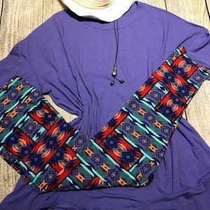 Irma tunic and leggings
